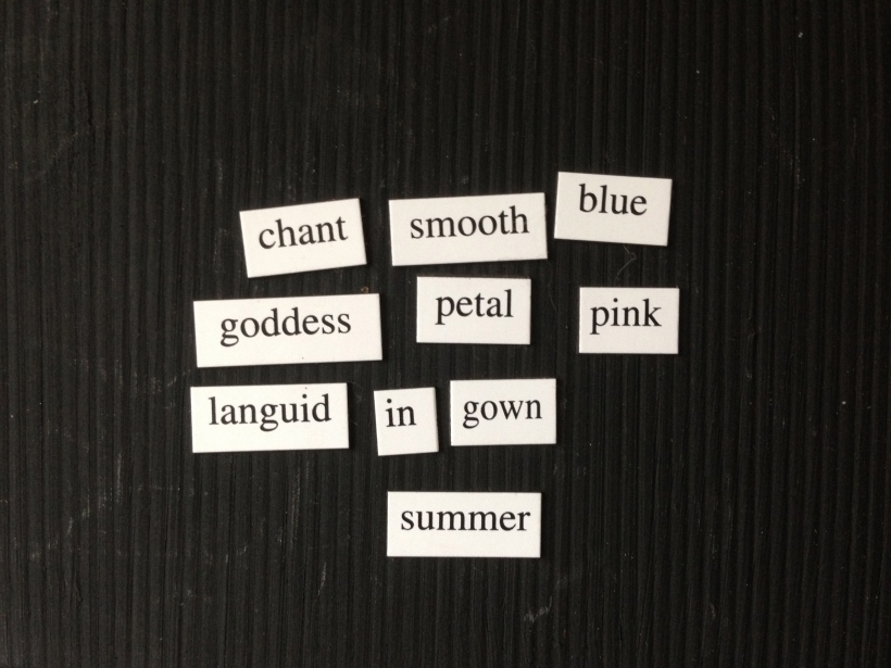 chant smooth blue/goddess petal pink/languid in gown/summer