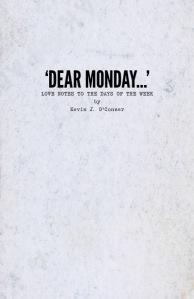 """Dear Monday…"" book cover"